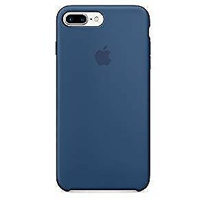 Apple Silicone Back Cover Case for iPhone 7 Plus - Ocean Blue