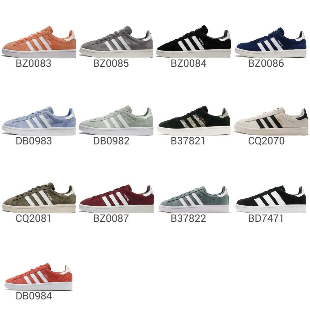 bba7cc6a71db66 Details about adidas Originals Campus Mens   Womens Casual Shoes Classic  Retro Sneakers Pick 1