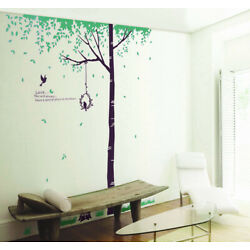 DIY Removable Flower Tree Wall Stickers Room Home Décor Wallpaper Mural