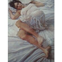 Steve Hanks When Her Blue Eyes Close Print Signed Certificate