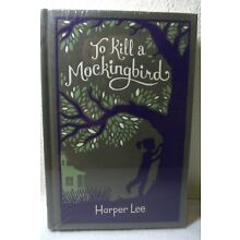 To Kill A Mockingbird by Harper Lee Brand New Sealed Leather Bound Gift Edition