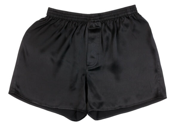 SEXY 100% Charmeuse SILK Mens Boxer Shorts Underwear in 7 Colours