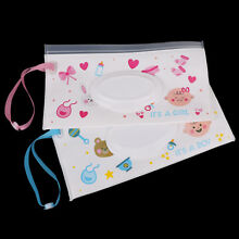 Eco-friendly clutch and clean wipes carrying case wet wipes bag cosmetic pouch H