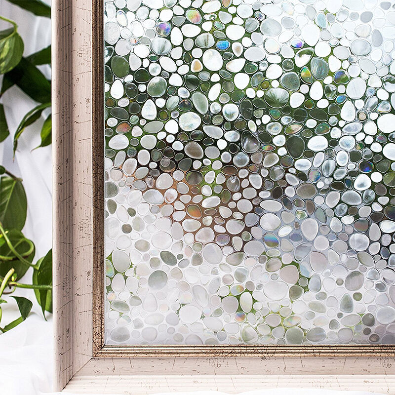 Details About Window Film Sticker Static Decorative Privacy Frosted Stained Glass Home Decor