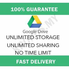 Unlimited googledrive storage lifetime not edu on your existing acc