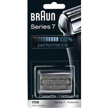 Brand New Braun 70S Replacement Head, Silver. For Series 7, Pulsonic