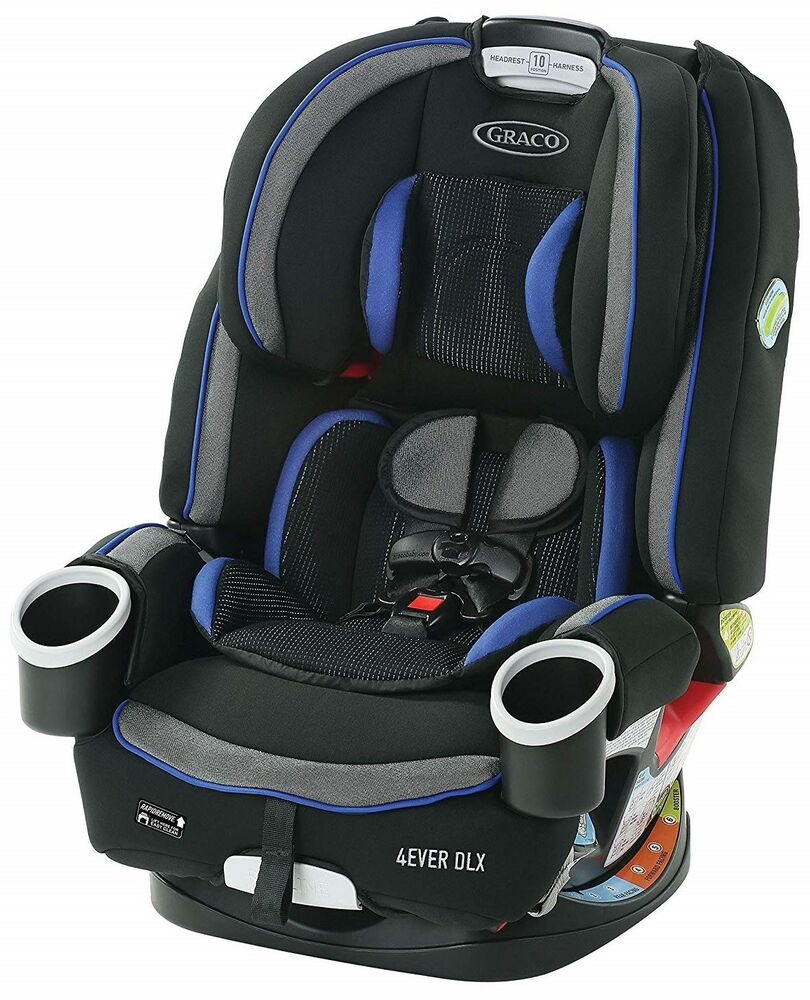 Graco Baby 4Ever DLX 4-in-1 Car Seat Infant Child Safety ...