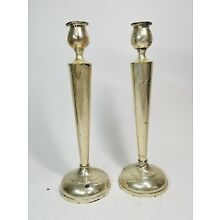 .925 Candlesticks - Sterling Reinforced with Cement & Steel Rod, 810
