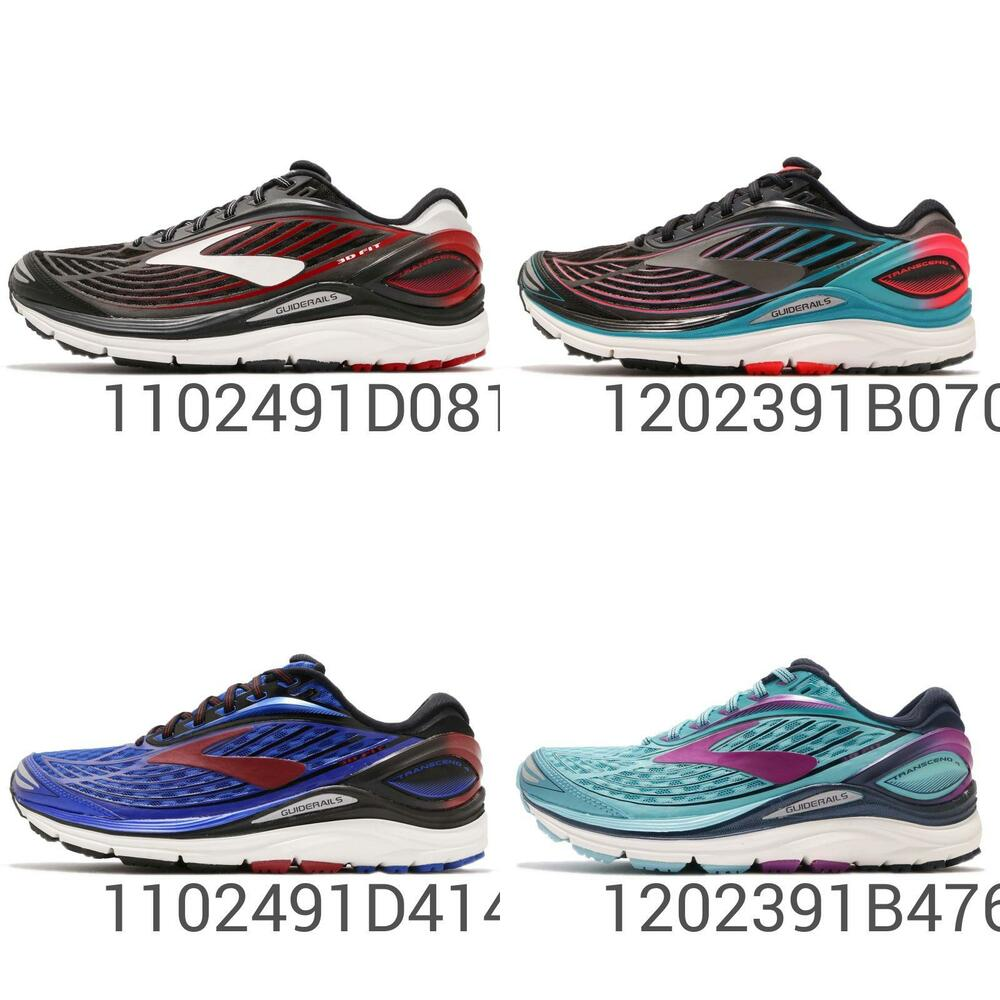 65b0e277e9782 Details about Brooks Transcend 4 Guide Rails Mens Womens Road Running Shoes  Pick 1