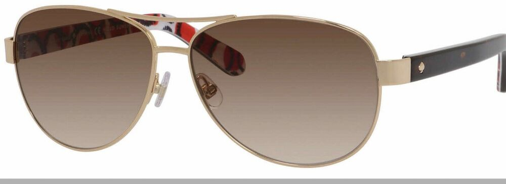 396654ea58 Details about Kate Spade Women s Dalia 2 Aviator Sunglasses