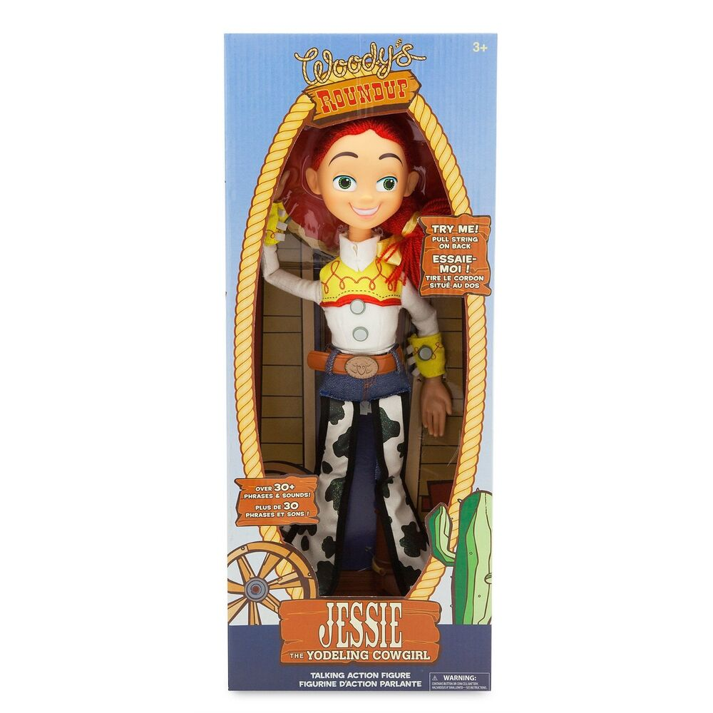 Details about Disney Store JESSIE Talking Doll Figure Toy Story Pull String  15