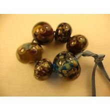 Cindy Beads Handmade Lampwork Glass Handcrafted Artisan Loose Bead SRA  cc35