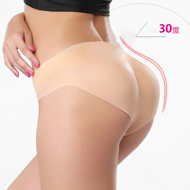 6b6d3933b9 Details about 1000g Women Silicone Sexy Panty Size L Full Body Padded  Buttock Enhancer Shaper