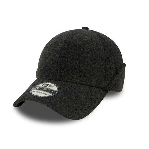 size 40 2d4f8 cf829 Details about New Era 39THIRTY New Era Winter Utility Grey Ear Downflap  Fitted Elasticated Cap