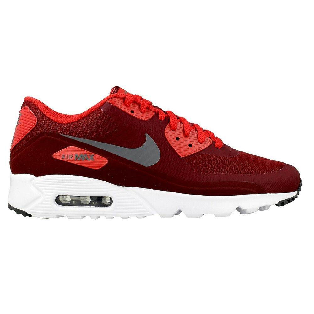 brand new e03bf e2a5c Details about NEW GENUINE Nike Mens Size 11.5 AIR MAX 90 ULTRA ESSENTIAL  Red Shoes 819474-602