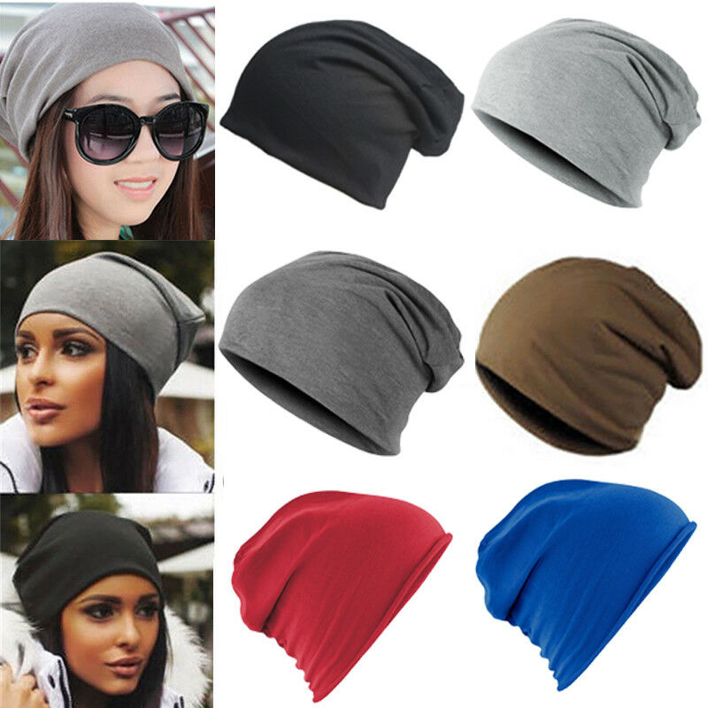 Details about Jersey Beanie Hat Lightweight Thin Stretch Slouch Cap Summer  Festival Ladies Men 8dc69aba99e