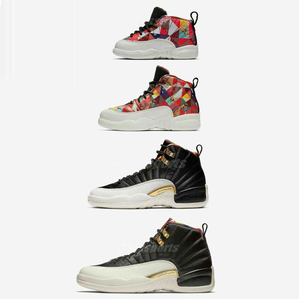 ed9e7e1ad8c6 Details about Nike Air Jordan 12 Retro CNY XII 2019 Chinese New Year Men  Women Kids TD Pick 1