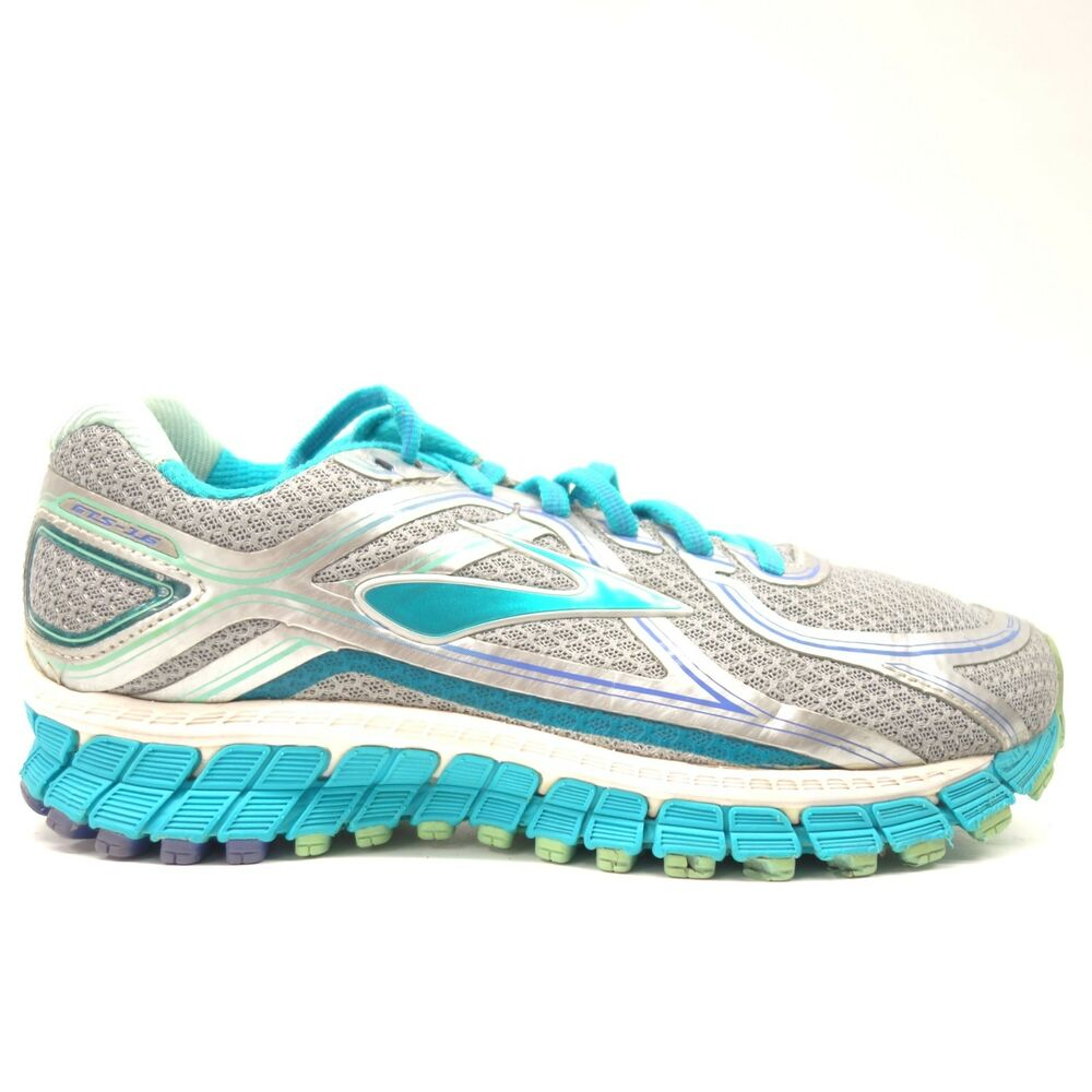 4f6e66fc553 Details about Brooks Womens Adrenaline GTS-16 Athletic Running Training  Shoes 6.5 Extra Wide