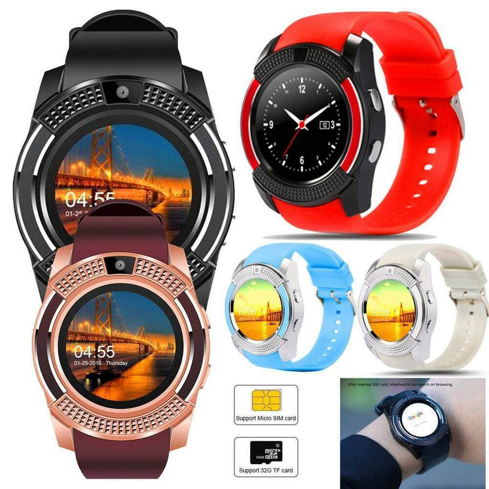 Details about Bluetooth Smart Watch Remote Camera Unlocked GSM Phone for  Women Men Samsung dcbc43bc74