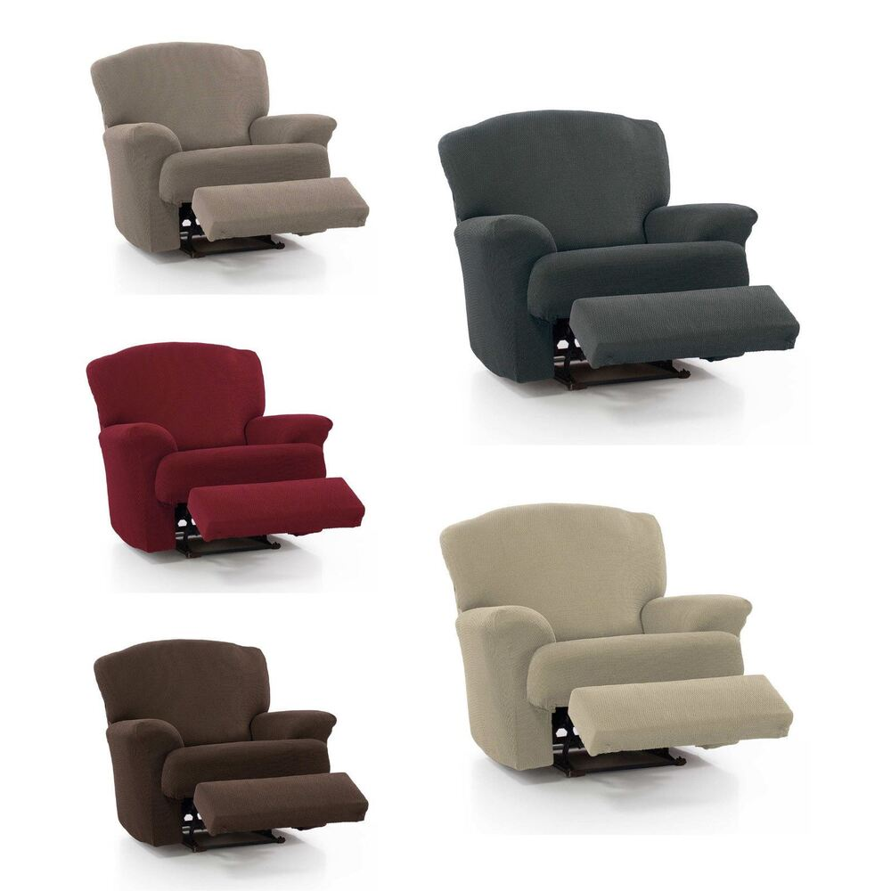 Stretch Chair Covers Easy Fit Recliner Lounge Armchair ...