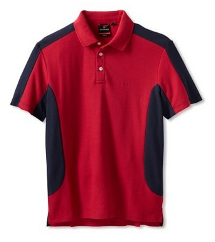 43fe0bd3 Details about Victorinox Men's Red Nautilus Short Sleeve Polo Shirt