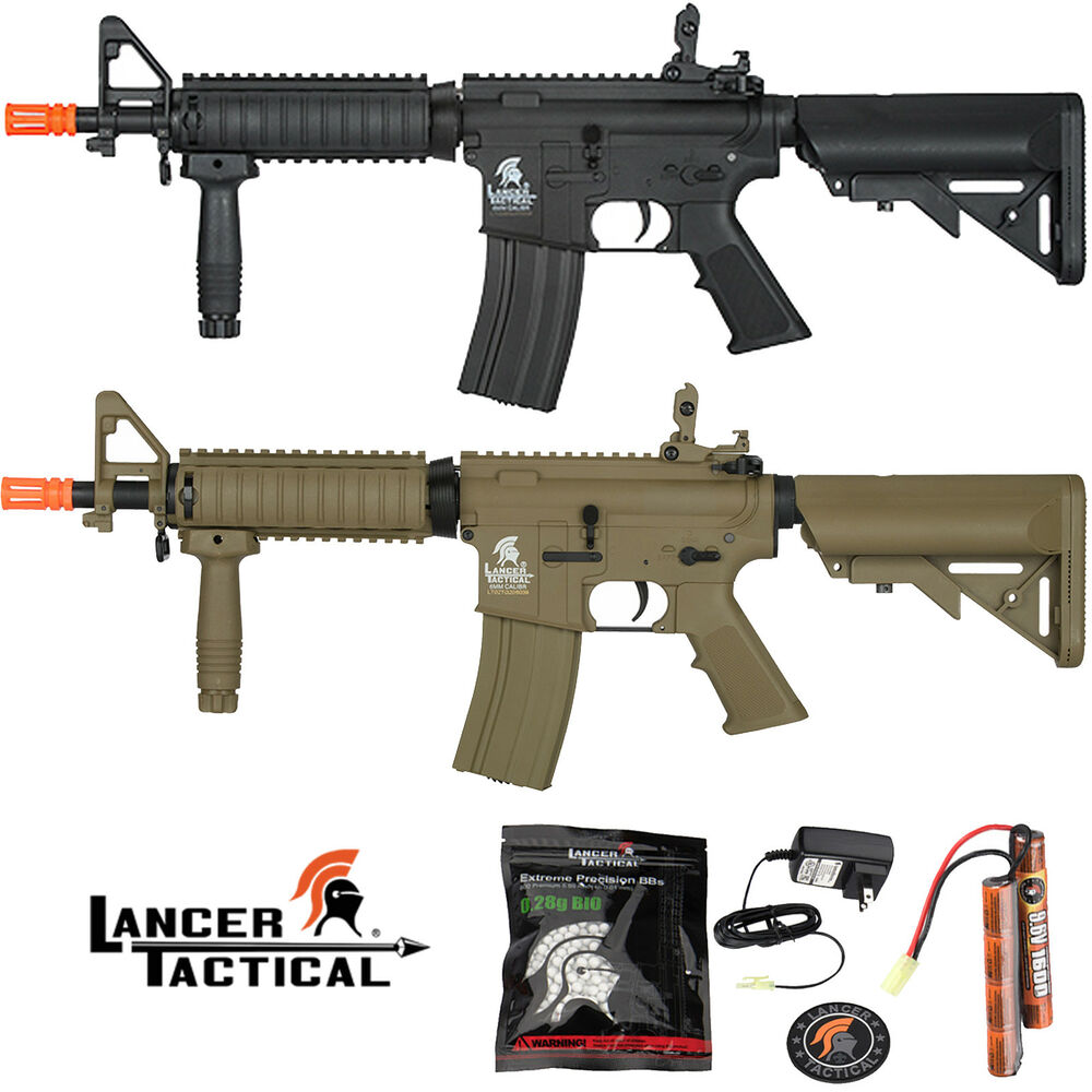 Lancer Tactical MK18 MOD 0 Gen 2 M4 Auto Electric Airsoft