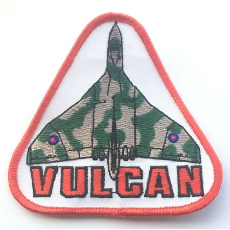 img-Vulcan Blouson Bomber Royal Air Force Militaire Patch Brodé