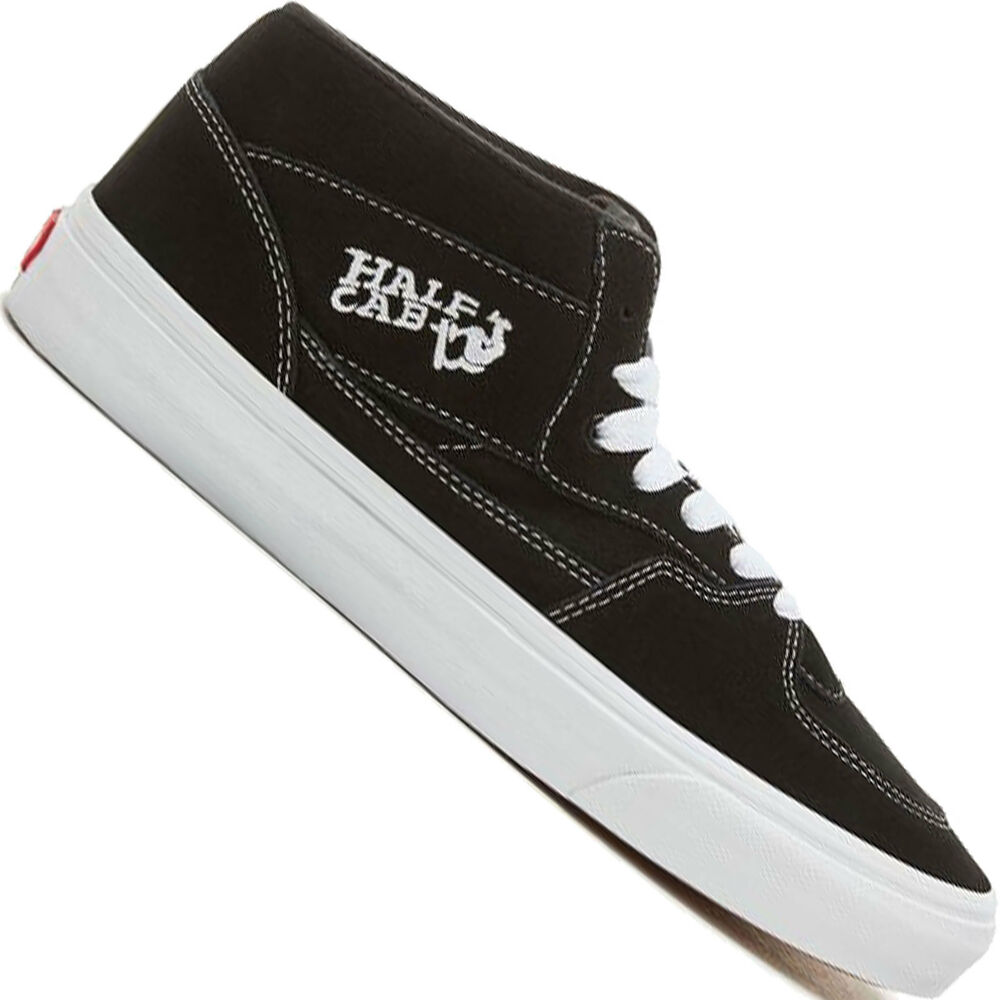 9d130666cd Details about Vans half Cab Trainers Mens-Boots Trainers Skater Shoes Skate  Casual Shoes