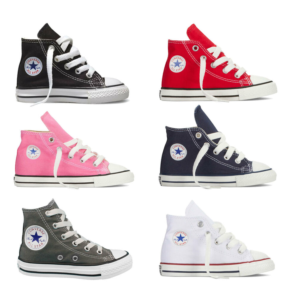 Details about Converse Chuck Taylor all Star Hi Toddler Boots Baby Shoes  Trainers 2efc2ad8e0aa
