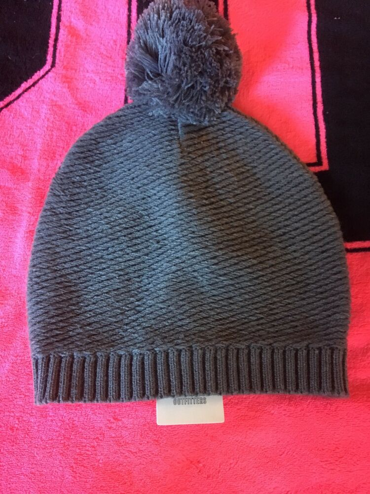 4d82d9d607521 Details about Urban Outfitters Winter Hat Grey New