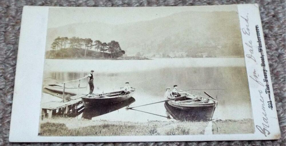 Ferry Boats At Grasmere