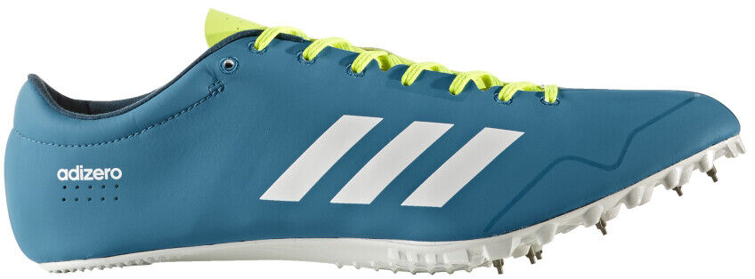 88a38019c5d8 Details about adidas Adizero Prime SP Mens Womens Running Spikes - Blue