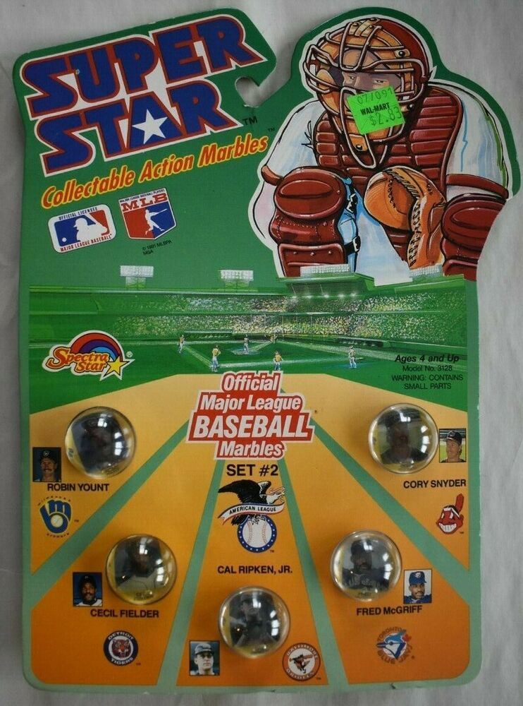 1990 Super Star Major League Baseball Marbles Set 2 26235031282 Ebay