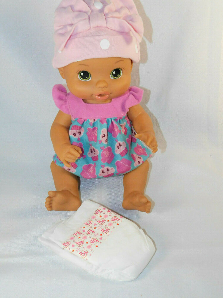 Baby Alive 2008 Hispanic Doll Green Eyes Drink Amp Wet Baby