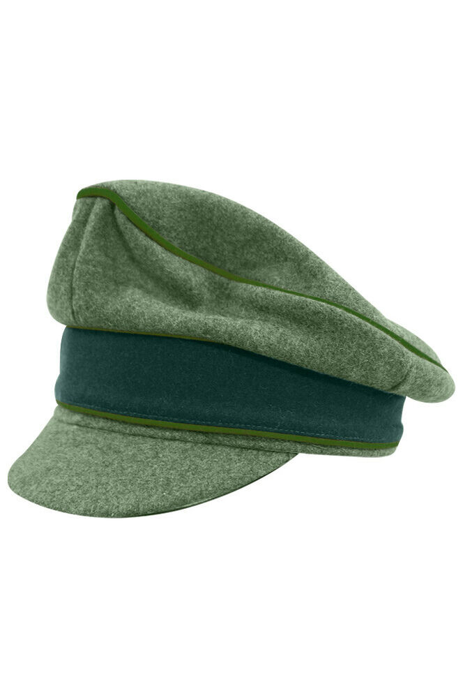 080621e4f32 Details about WWII German Heer M37 Panzergrenadier Wool Crusher cap Field  cap