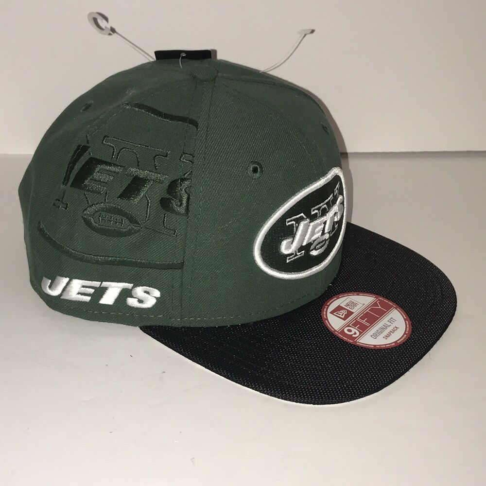 Details about NEW YORK JETS NFL LICENSED NEW ERA 9FIFTY ORIGINAL FIT  SNAPBACK b2a6c15e9