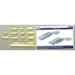 L'Arsenal Models 1/350 DUKW with TRAILERS (10) Resin Set