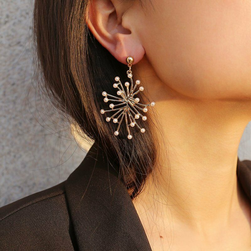 Beautiful Ladies Pierced Ear Dangly Earings Used In Good Condition Fashion Jewelry Jewelry & Watches