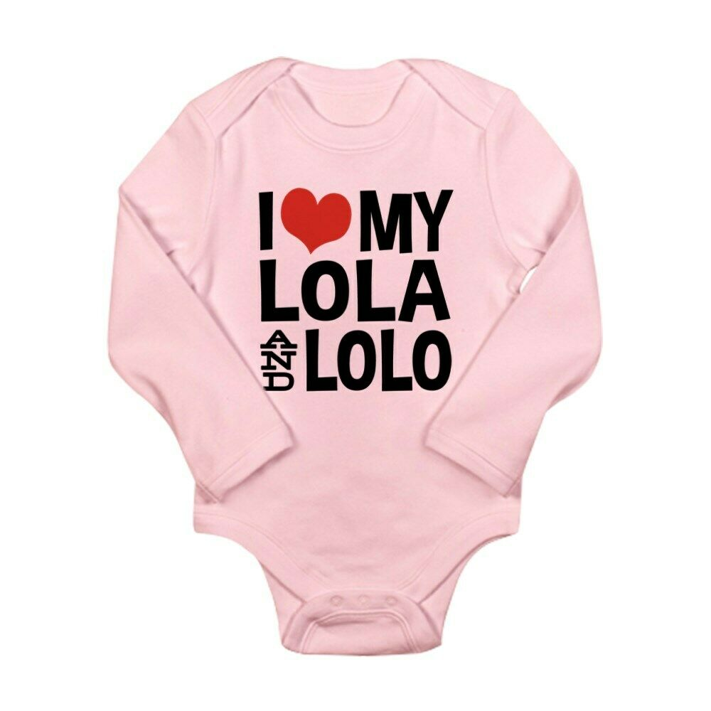 b76cffe27 Details about CafePress I Love My Lola And Lol Baby Bodysuit (1664407674)