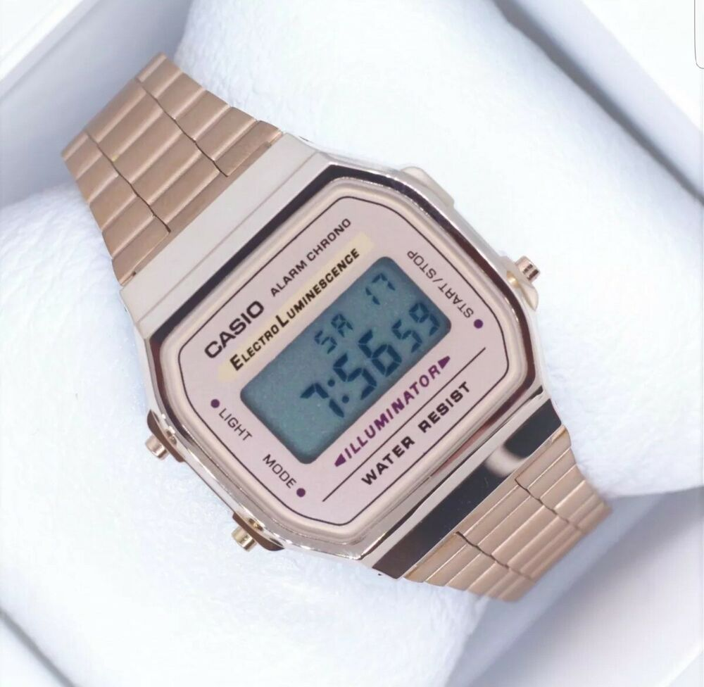 64555167130 Details about NEW Casio Rose Gold Vintage Watch