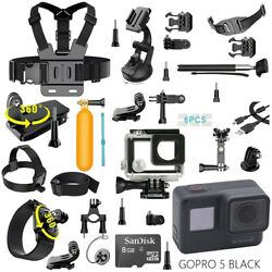 Kyпить GoPro HERO 5 Black Edition Touch-Screen Camera + 40 PCS Sports Accessory Bundle на еВаy.соm