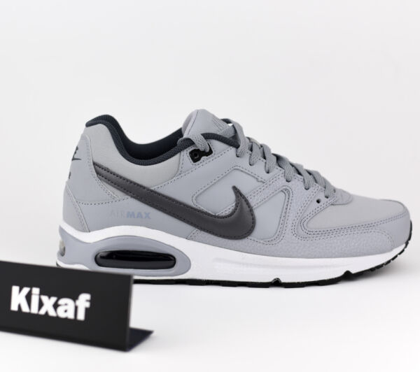 Details about Nike air max Command Leather Men's Sneaker Shoes 74976001 Leather Black New
