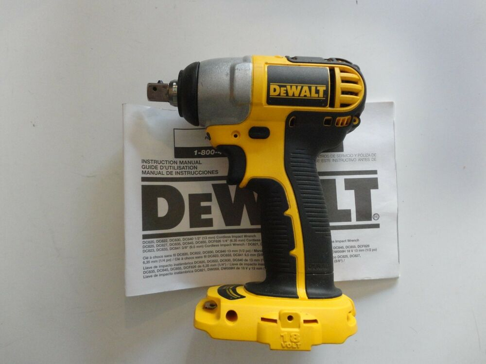 Details About Dewalt Dc820b 18v 18 Volt Cordless 1 2 Impact Wrench Tool Only New