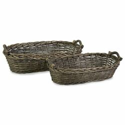 IMAX Taylor Willow Baskets, Set of 2