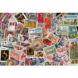 Kyпить [Lot A] 100 Different Worldwide Stamp Collection - About 50% Commemoratives!  на еВаy.соm
