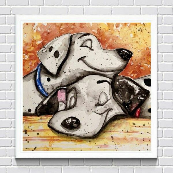 DIY 5D Diamond Painting Cartoon Dog Embroidery Cross Stitch Home Decor Craft