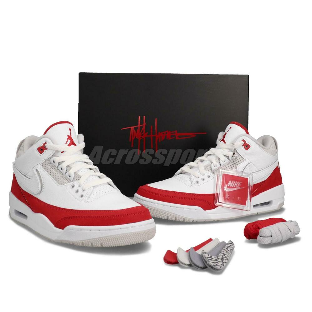 b2b216fc7a1181 Nike Air Jordan 3 Retro TH SP Tinker Hatfield Air Max 1 OG Red White  CJ0939-100