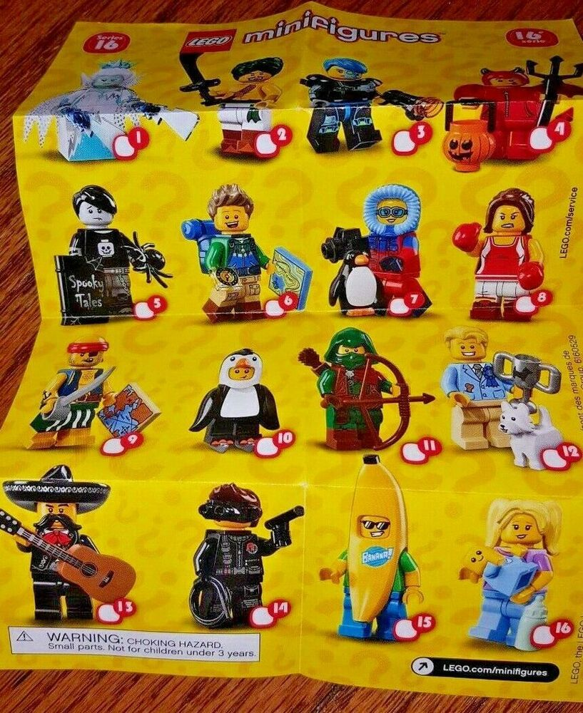 *IN HAND* Lego Series 17 Minifigures 71018 YOU CHOOSE