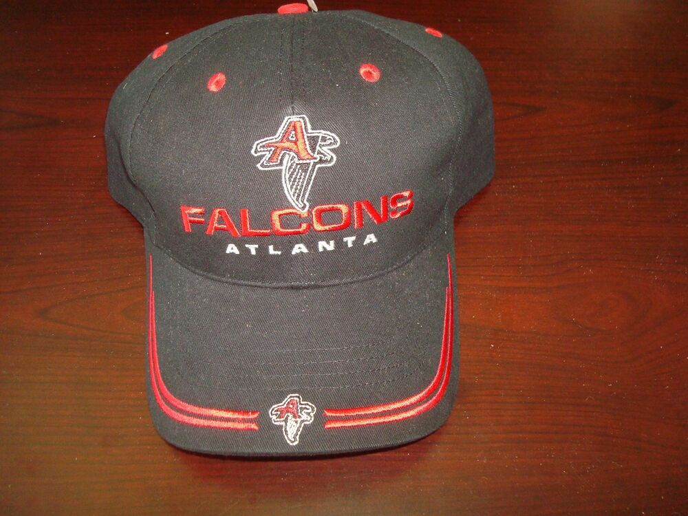 9fe92924c9d Details about ATLANTA FALCONS TWINS DEADSTOCK VINTage SCRIPT HAT CAP  ADJUSTABLE STRAPBACK