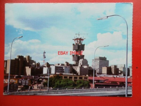 POSTCARD OCEANIA AUSTRALASIA JOHANNESBURGH VIEW OF CITY